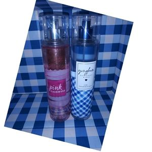 Bath and Body Works Fragrance Mists ❤